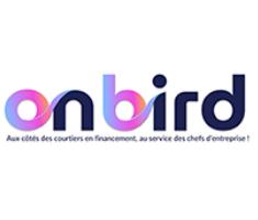 on bird